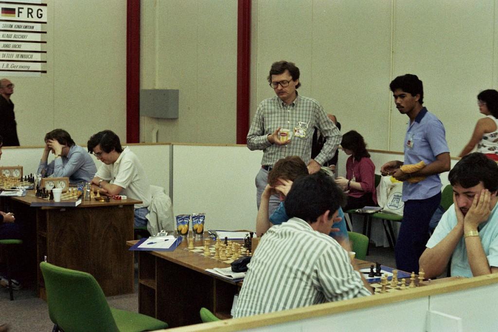 Hans-Joachim Hecht,Dubai 1986